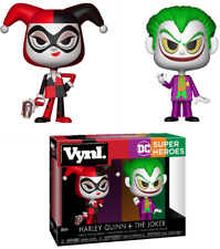 Funko Vynl. DC Super Heroes HARLEY QUINN + The JOKER 2 Pack