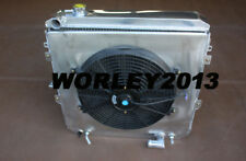 3 core aluminum radiator + shroud + fan for HILUX LN106 LN111 2.8 diesel 1988-97