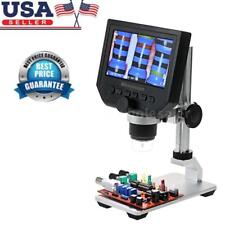 Portable 600X LCD 3.6MP Electronic Digital Video Microscope for Mobile Phone US