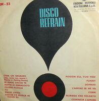 """PROMO RCA DISCO REFRAIN EM-23 7"""" SORROWS SHAW PAGANO DINO ROKES ANKA FONTANA"""