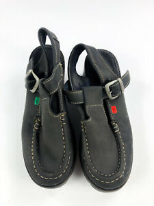 Black Kickers Heeled Sandals   Size 41