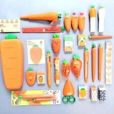 Pencil Case Penholder Carrot Series Silicone Organizer Bag Kawaii Stationery