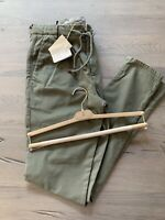 Brunello Cucinelli Drawstring Jogging Trousers Cargo Travel Pants Jeans 44