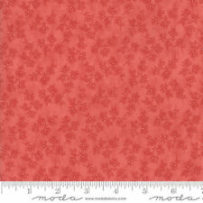 Moda Victoria Floral Beatrice Red - 100 Cotton Fabric Patchwork Quilting