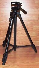 Genuine Velbon (DF-40) Matte Black Portable 3-way Pan Head Photo/Video Tripod