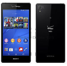 Sony Xperia Z3v D6708 - 32GB - Black (Verizon) Android Smartphone
