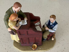 "Norman Rockwell's ""Marriage License� Figurine"