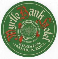 Vintage Hotel Luggage Labels Kingston Jamaica BWI, Koln, Germany Lot of Two