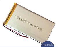 2PCS 3.7V 10000mAH 8870129/8873130 LiPo Li-ion Polymer Rechargeable Battery