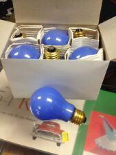 6 Pack 100w Ceramic Blue light bulb 130 V Bulbrite. 6 Bulbs New