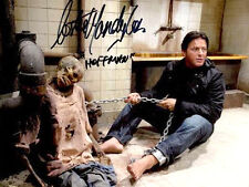 """COSTAS MANDYLOR AUTOGRAPHED """"HOFFMAN PULLING ON THE CHAIN"""" SAW BATHROOM PHOTO"""