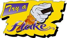 Try a Flake Sticker - 99 Ice Cream Van Bonnet, Door Logo, Catering, Cafe Decal