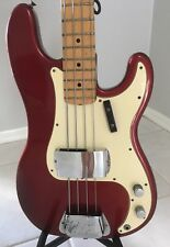 Vintage 1972 Fender Precision Bass - Maple Neck - OHSC - World Toured