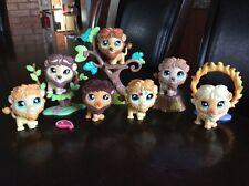 LPS Littlest Pet Shop Lot Of 7 Lion # 809 1112 944 1004 2226 1874 1576 + Acc