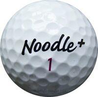 25 Noodle+ Plus Mix Golfbälle im Netzbeutel AAA/AAAA Lakeballs TaylorMade Bälle