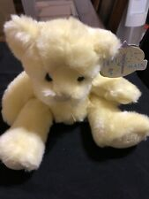 Vintage SCHNOOKUMS Stuffed/Plush Yellow& Tan BABY BEAR by First & Main Rare Item