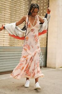 Free People Intimately Stay A While Maxi Dress Bnwt Xs 8/10