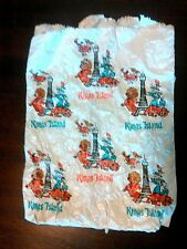 Vintage King's Island Gift Shop Bag Paper Heavy Wear Scooby Doo Characters