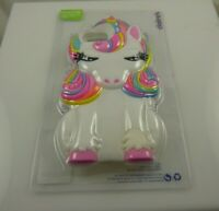 Fits Iphone 6 7 8 SE  phone case Cute soft rubber Unicorn white and pastel color