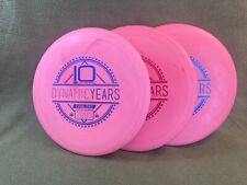 3 Pack of New 2015 Dynamic Discs 10 Year Strawberry Scented Judges 174g