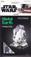 Fascinations Premium Series ICONX Star Wars R2-D2 3D Steel Metal Earth Model Kit