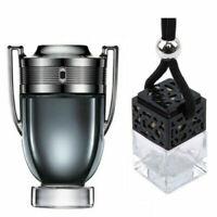 Invictus Inspired Car Air Freshener Scent Perfume Bottle Ornament Designer