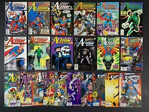 Run of (22) Action Comics (1987-95) #584-711 DC Comics StoreStock MoreListed