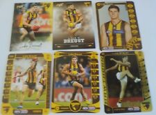 Teamcoach & Select HAWTHORN Luke Breust cards x 6 inc Gold,Silver,2018 common
