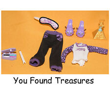 Monster High Clawdeen Wolf Doll Room To Howl Shoes Playset Dead Clothes Cleo LOT