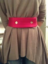 BNWT 100% auth Thomas Pink, Maison Bentley Style Pink BELT. XS RRP £80.00