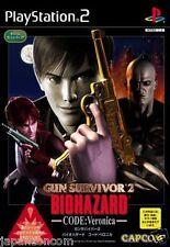 Used PS2 Gun Survivor 2: BioHazard Code: Veronica SONY PLAYSTATION 2 JAPAN