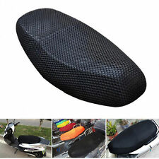 Motorbike Scooter Anti-slip Breathable Cool Mesh Seat Saddle Cover Cushion Black