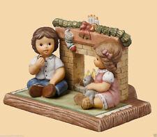 Goebel Nina Marco Figur Porzellan - Wir warten auf den Weihnachtsmann 66877853