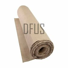 "5 metre roll - 15oz hessian fabric. Heavy weight, best quality hessian. 36"" wide"