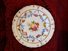 ANTIQUE DERBY PLATE - c1790