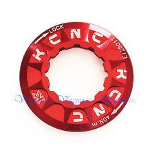 NEW KCNC DISC BRAKE ROTOR LOCK RING AL6061 BIKE BICYCLE, RED