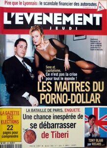 Mag 1997: _ UK P Del Dollar Porno _Dracula_Yannik Noah _ Marie-France Pisier