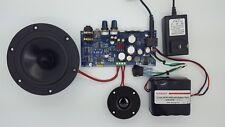 Class A/B Audio Board 60W@4ohm Bluetooth DIY COMPLETE KIT W/ Battery + Speakers!