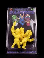 Motley Miscreation X Deadbirdtoys Kaiju Rangers Keshigomu Kinkeshi Keshi Figure