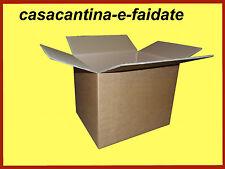 SCATOLE CARTONE, 5 PEZZI, H80 X 50 X 40 AVANA ,TRASLOCO,SPEDIZIONI,IMBALLAGGIO