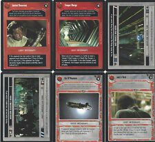 New listing 6 Cards Star Wars Customizable Card Game Ccg-exactly on the scan 9