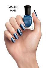 NEW! Deborah Lippmann MAGIC MAN Polish Lacquer Blue Wave Magnetic mini/sample