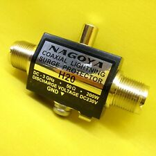 Coaxial Lightning Surge Protector Antenna Arrester SO239 VHF UHF Radio 3GHz 200W