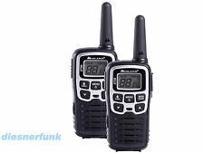 MIDLAND XT50- PMR446 Sprechfunkgerät Paar, 24 Kanal, VOX, CTCSS, 8Km, Standlader