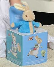 Beatrix Potter's Peter Rabbit Musical Jack in the Box (BNIB)