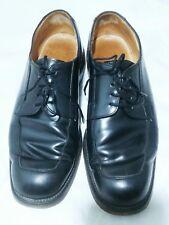 Vintage GRENSON Mens Dress Shoes Black Leather Oxford US 9 F (Medium)