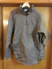 USGI Army ECWCS Polypro Polypropylene Brown Cold Weather Top Shirt X X Large NEW