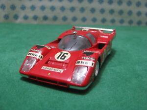 Vintage  -  FERRARI 512 Le Mans    -  1/43 Solido Ref. 197