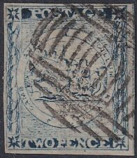 NSW 2d prussian blue Sydney View with variety CREVIT ommited SG 26g