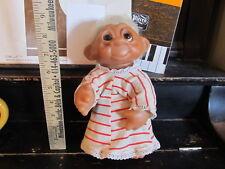 Trolls 8 inch Thomas Dam 1977 in pajamas